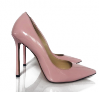 Pink Patent Leather Pumps Heels by Jimmy Choo