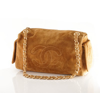 Suede Chanel doctor bag.