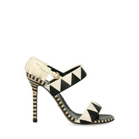 Sergio Rossi Sandals With Geometric Pattern