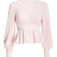 BRAND NEW WITH TAGS - Zimmermann peplum sweater
