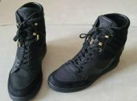 Louis Vuitton Cliff Monogram High Black Sneakers