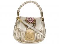 Miu Miu Miu miu bag new Handbags Leather Metallic