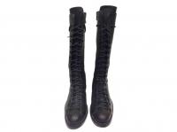 Ann Demeulemeester Superb Boots dark brown laces