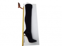 new casadei. never worn. Size 10 US. color black.