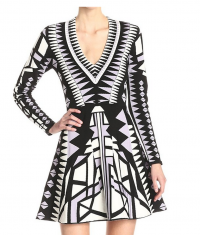 Geometric Print Parker dress