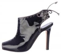 Manolo Blahnik Lace Up Heel out Bootie
