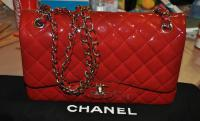 Red Patent leather jumbo
