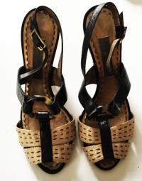 Alberta Ferreti Strappy Heels