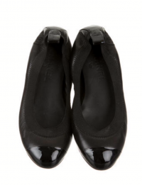 Chanel Round Toe Flatd