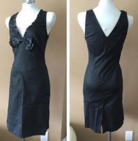 Bluemarine black bodycon dress