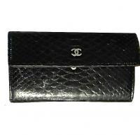 Python Chanel wallet