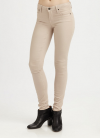 Cream Helmut Lang stretch skinny jeans NWT sz 25