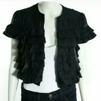 Layered Crop Jacket
