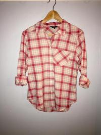 Paige Plaid button down shirt XS