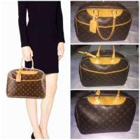 Vintage Louis Vuitton Monogram Deauville Bag