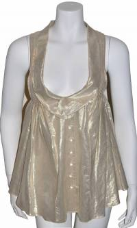 Alexander Wang Gold Top