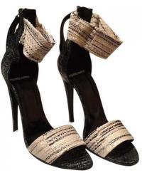 Pierre Hardy snake leather slim shoe