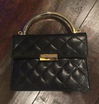 Gently Loved St. John Quilted Bag