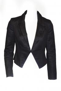 Mason jacket black w/metallic