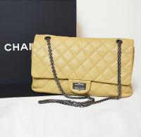 Beige Caviar Chanel jumbo