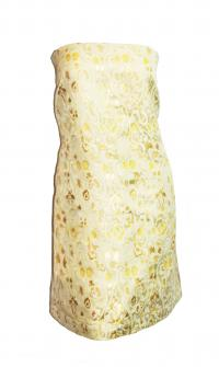 RED Valentino Gold Dress Size 12