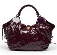 Purple Patent Louis Vuitton Bag