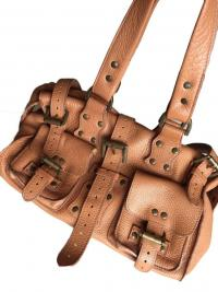 Roxanne Leather Satchel by Mulberry