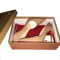 Christian Louboutin so kates nude sz 41