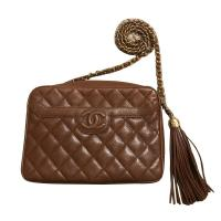 Chanel Quilted Caviar Leather Camera Bag