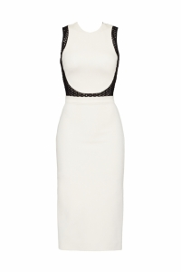 David Koma Long and Sleek Pencil Dress