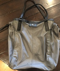 Authentic Burberry nylon handbag