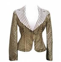 Vintage Armani Collezioni Silk Fitted Blazer