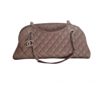 Chanel Mademoiselle caviar shoulder bag