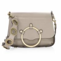 Rebecca Minkoff o-ring taupe shoulder bag