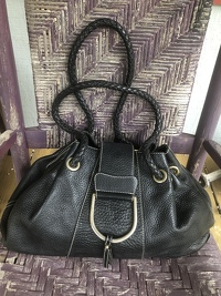 Braided rope handle satchel