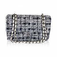 Chanel Classic Tweed Flap Bag