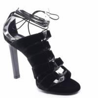 Saint Laurent velvet Strappy sandals