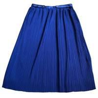 Trendy Pleated Kenzo Midi Skirt
