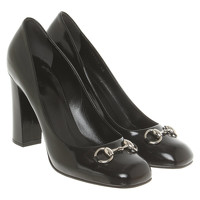 Gucci Pumps/Peeptoes Leather in Black
