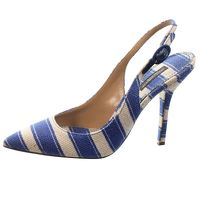 Dolce & Gabbana SLINGBACK STRIPED HEELS/PUMPS