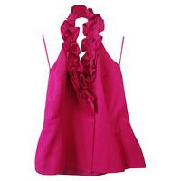 Max Mara Vest Cotton in Fuchsia