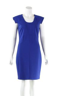 Robert Rodriguez blend back zipped down knee dress
