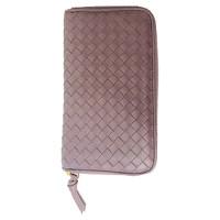Bottega Veneta Bag/Purse Leather in Violet