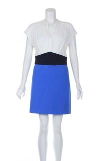 Maje Multicoloured Knee Length Sleeveless Dress.