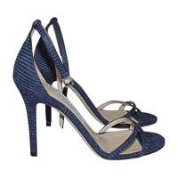 Jimmy Choo blue strappy sandals