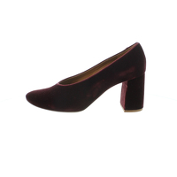 Chloé Maroon Round-Toe heels/pumps.