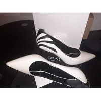 Celine Zebra stripped pumps