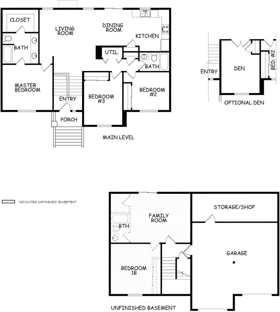 Dayton Marketing Material Floor Plan Hayden Homes