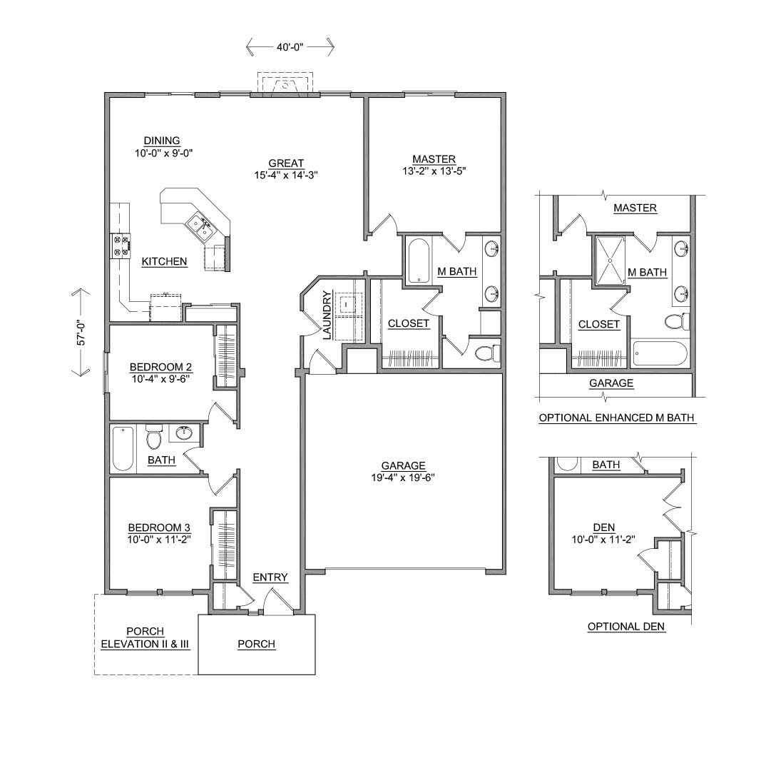 Floor Plans Of Homes | The Hudson New Homes For Sale Wa Id Or Hayden Homes
