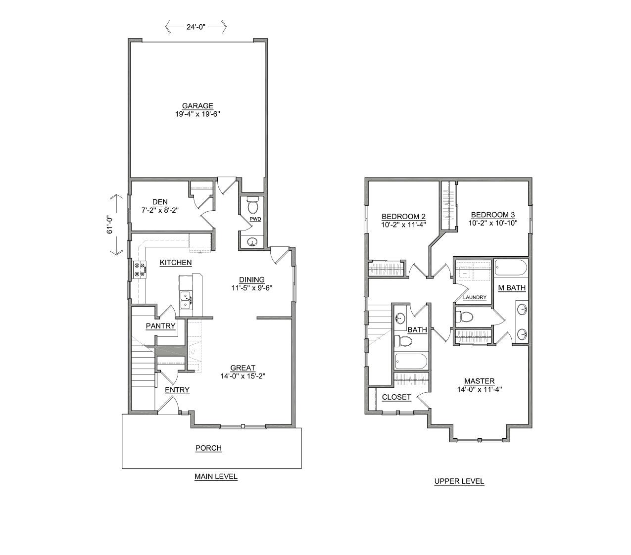 The jordan new houses in id wa by hayden homes for Hayden homes floor plans